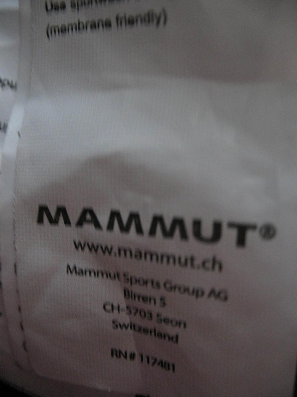Куртка MAMMUT ultimate westgrat jacket lady (размер S) - 10
