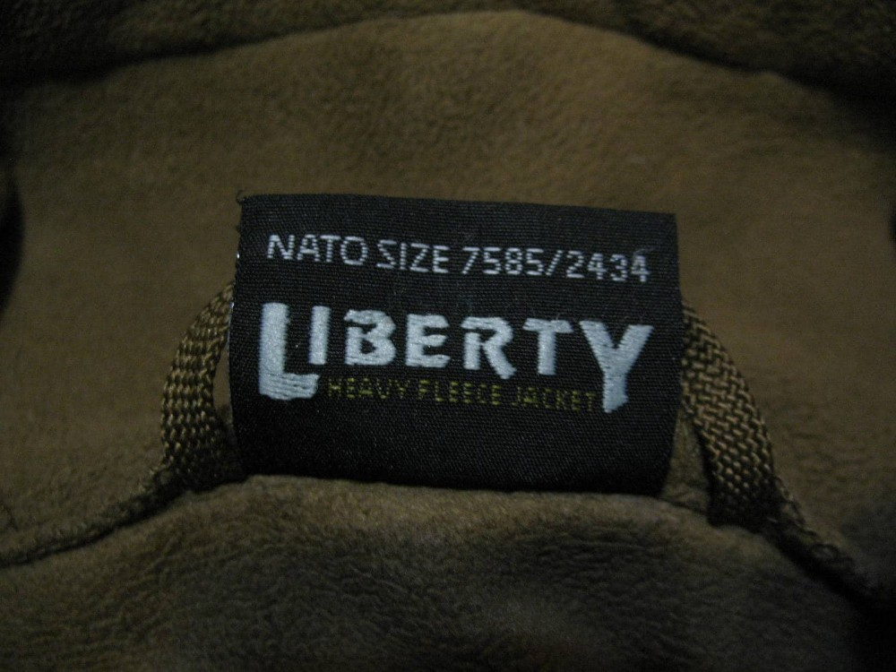 Куртка HELIKON TEX liberty heavy fleece jacket (размер XXL) - 13