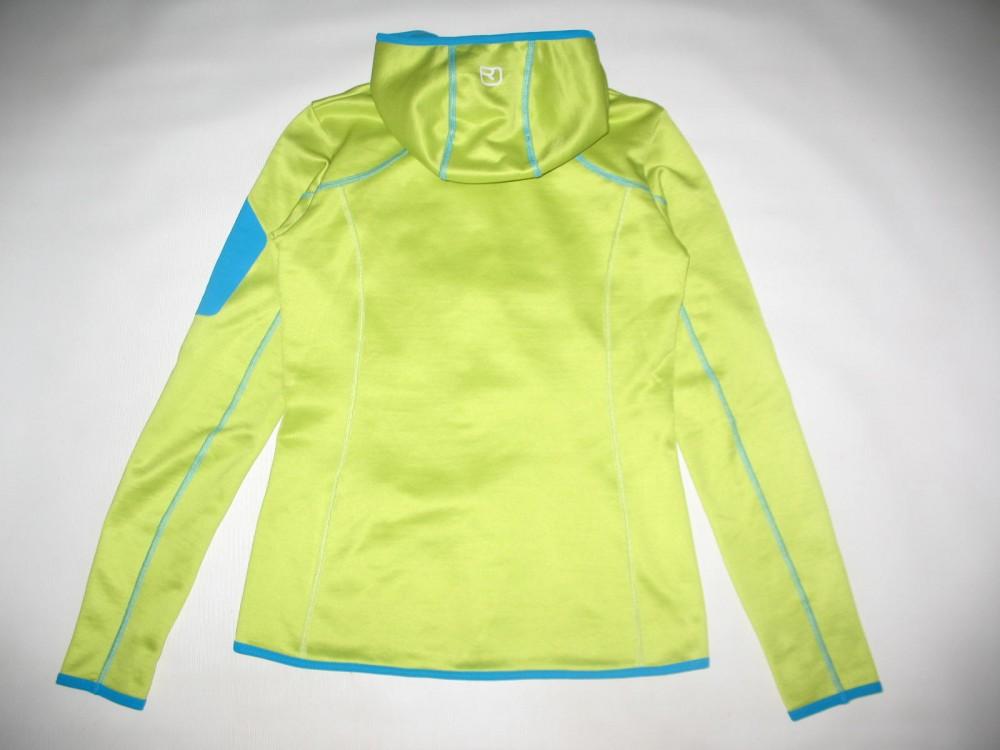 Кофта ORTOVOX merino fleece hoodies lady (размер S) - 2