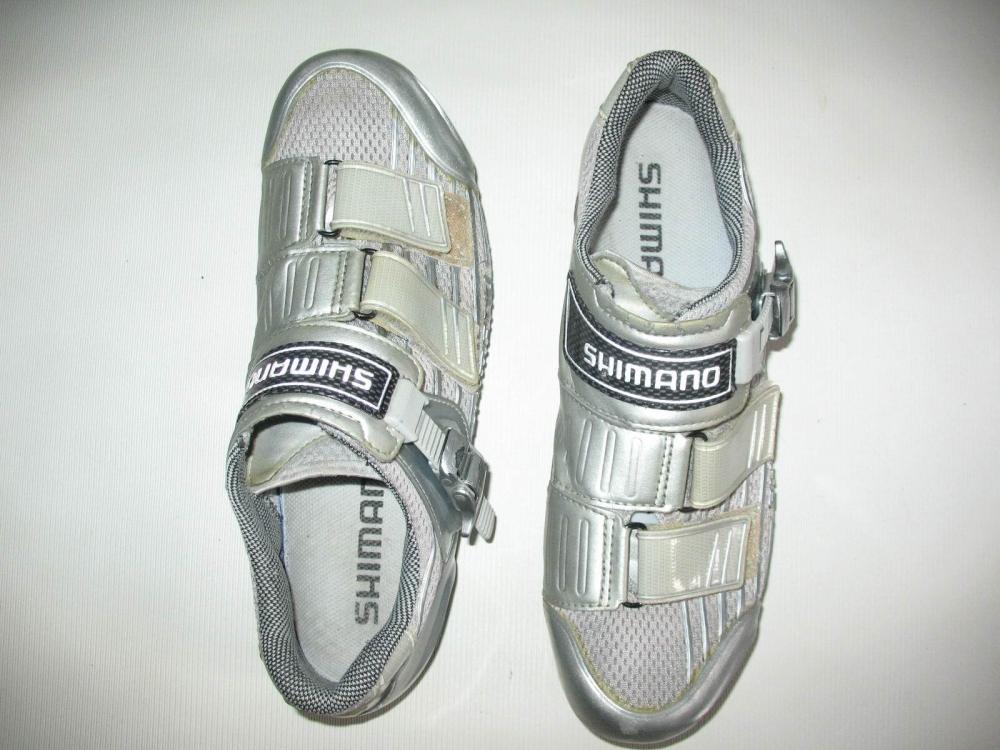 Велотуфли SHIMANO SH-R215 Road Shoes (размер US9/EU43(на стопу 272 mm)) - 3