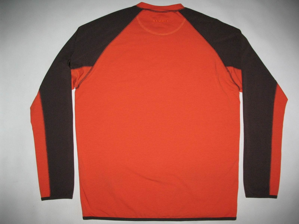 Кофта MAMMUT longsleeve jersey (размер XXL) - 2