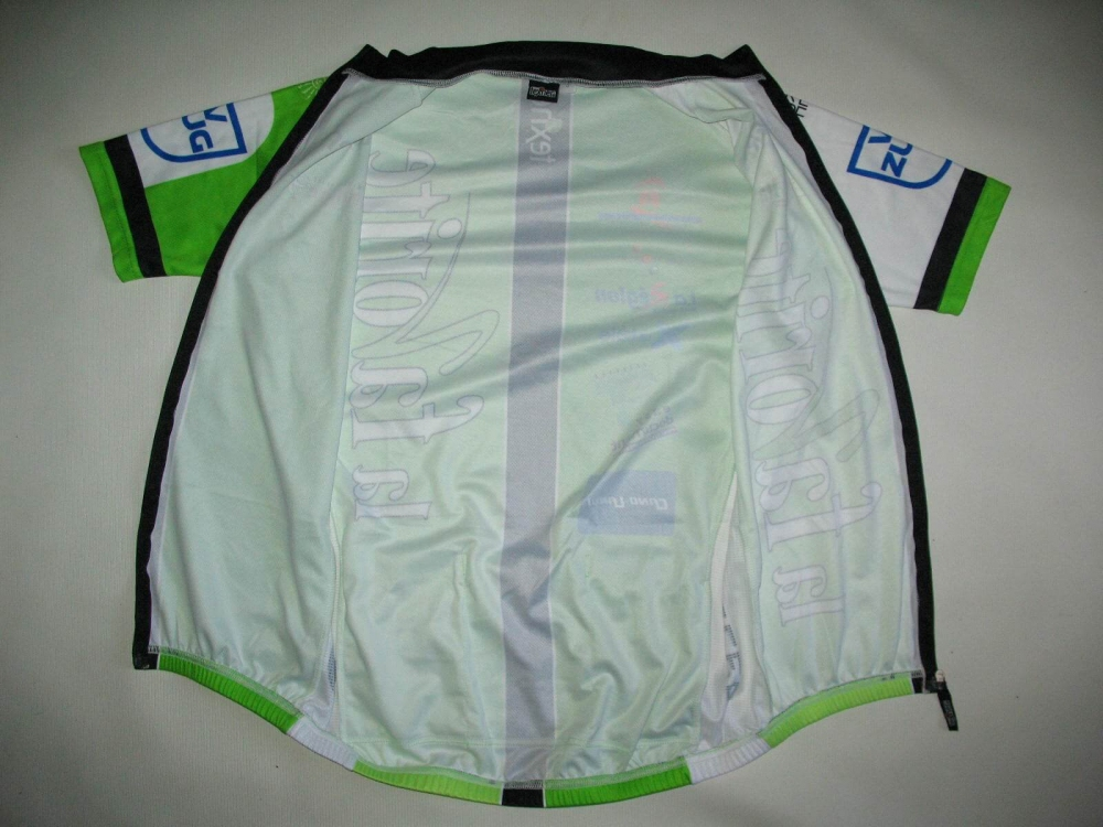 Веломайка TEXNER la favorite green cycling jersey (размер S) - 3