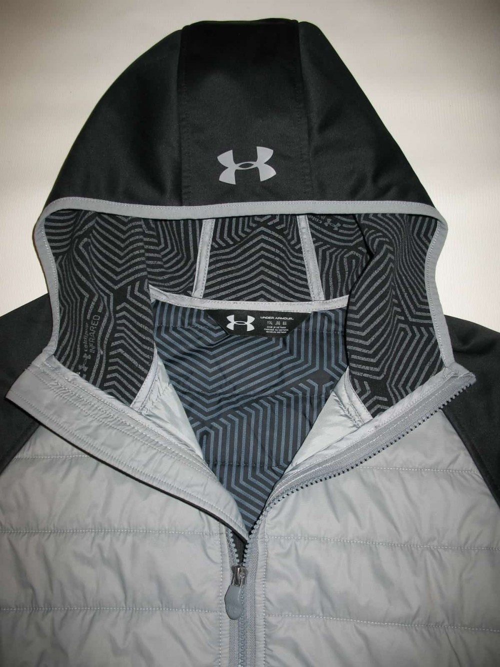 Куртка UNDER ARMOUR storm coldgear infrared werewolf jacket lady/boys (размер young XL(lady M/S)) - 4