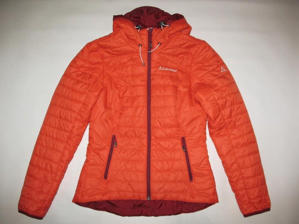 Куртка SCHOFFEL cushy hoody jacket lady (размер 36/S) - 1