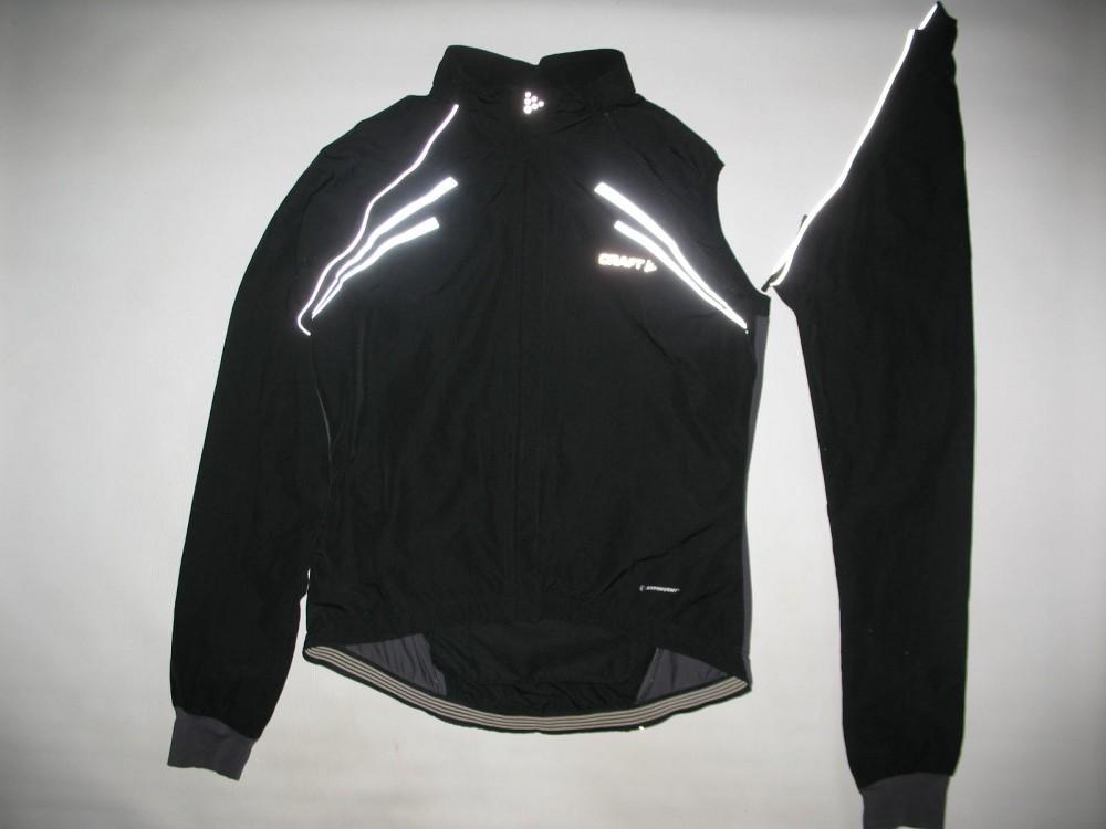 Велокуртка CRAFT 2in1 run bike jacket lady (размер L) - 1
