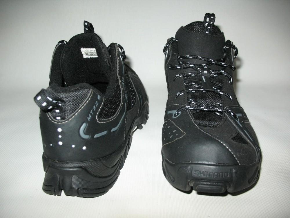 Велотуфли SHIMANO sh-mt32 mtb shoes (размер US10.5/EU45(на стопу до 285 mm)) - 5
