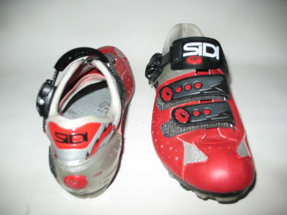 Велотуфли SIDI mtb red shoes (размер EU42(на стопу до 260 mm)) - 4