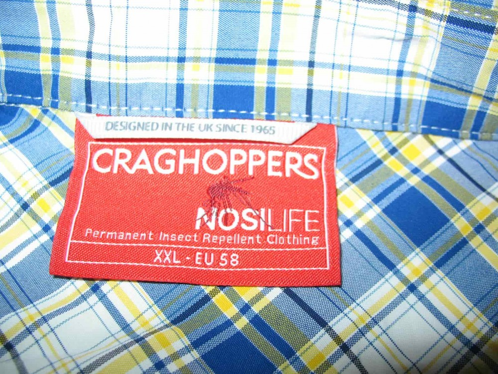 Рубашка CRAGHOPPERS nosiLife prospect shirt (размер 58-XXL/XXXL) - 7