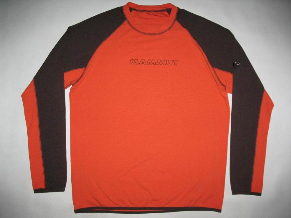 Кофта MAMMUT longsleeve jersey (размер XXL) - 1