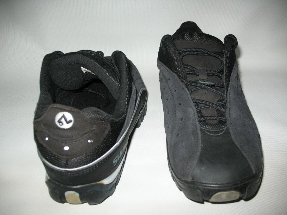 Велотуфли SHIMANO sh-mt30 mtb shoes (размер US13/EU48(на стопу до 305 mm)) - 5