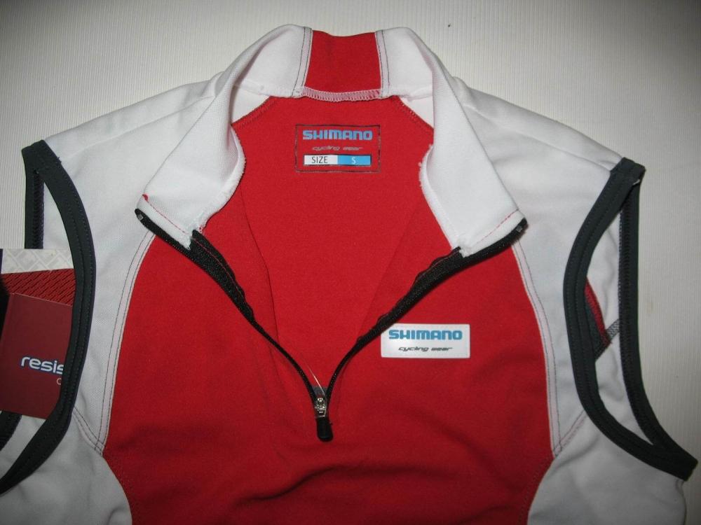 Веломайка SHIMANO sleeveless jersey lady (размер S) - 3