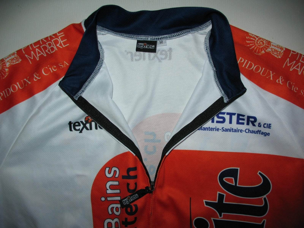 Веломайка TEXNER la favorite orange cycling jersey (размер M) - 2