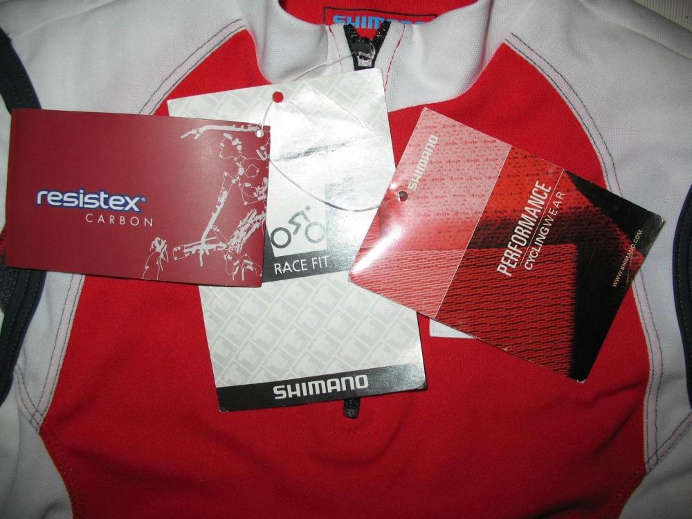 Веломайка SHIMANO sleeveless jersey lady (размер S) - 4