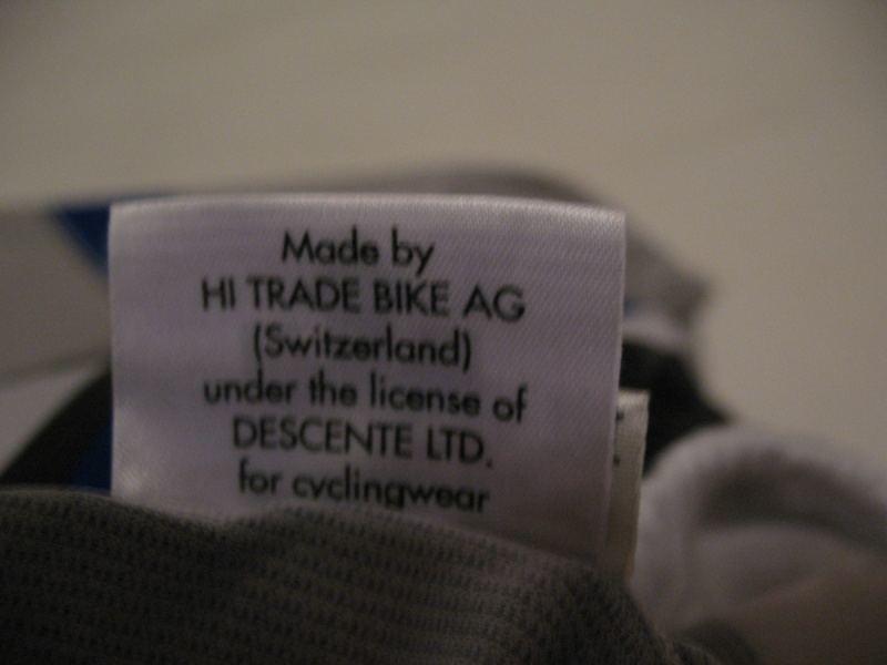 Футболка DESCENTE biketex  (размер XL) - 6
