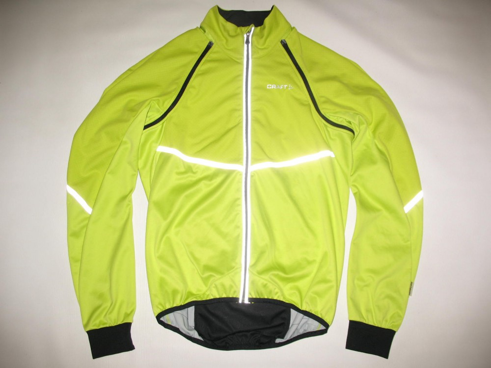 Велокуртка CRAFT adapt storm 2in1 cycling jacket (размер M) - 2