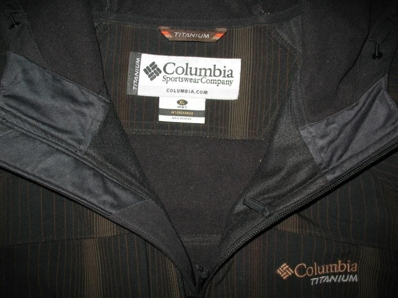 Куртка COLUMBIA tianium omny-shield softshell  (размер XLXXL) - 4