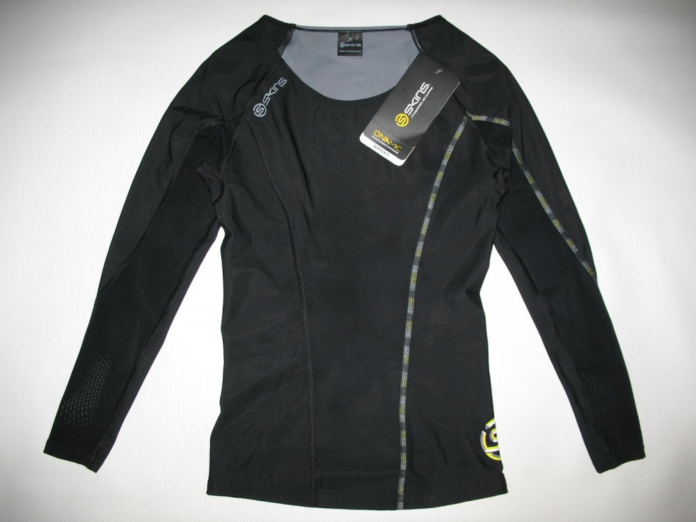 Футболка SKINS DNAmic compression long sleeve top lady (размер M) - 2