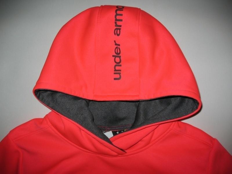 Кофта UNDER ARMOUR Fleece Big Logo Pullover Hoody kids/lady  (размер YL/взрослый XS) - 4