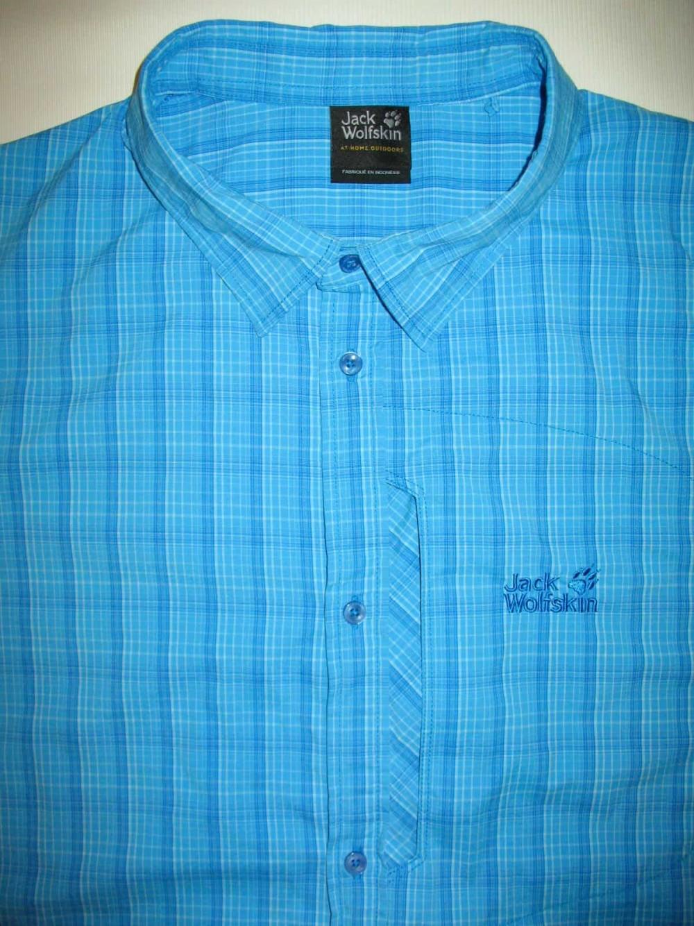 Рубашка JACK WOLFSKIN rays stretch vent shirt (размер XXXL/XXL) - 4