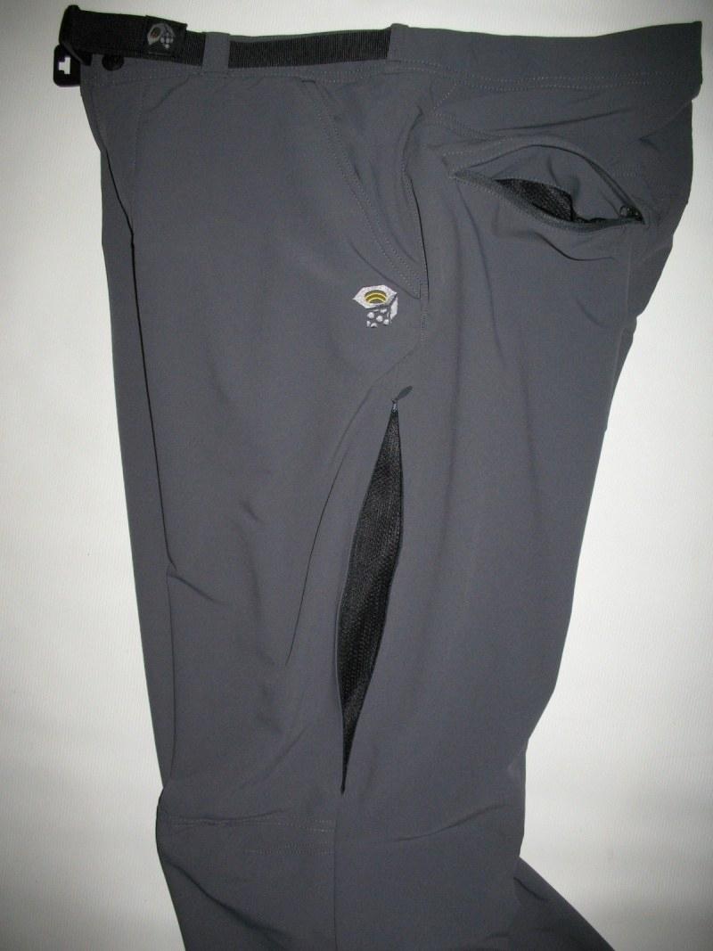 Штаны MOUNTAIN HARDWEAR Navigation softshell pants (размер M) - 7