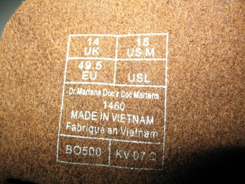 Ботинки Dr. MARTENS 1460 classic (размер UK14/US15/EU49(330mm)) - 15