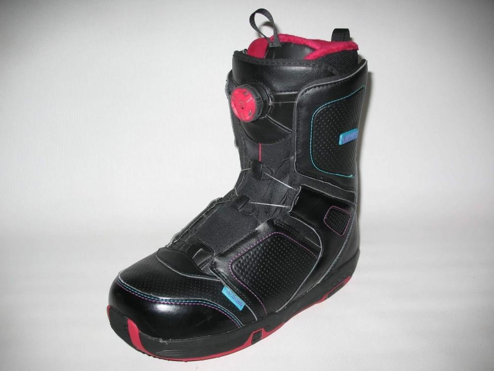 Ботинки SALOMON pearl boa snowboard boots (размер US10/UK8,5/EU42,5(на стопу до 270mm)) - 1