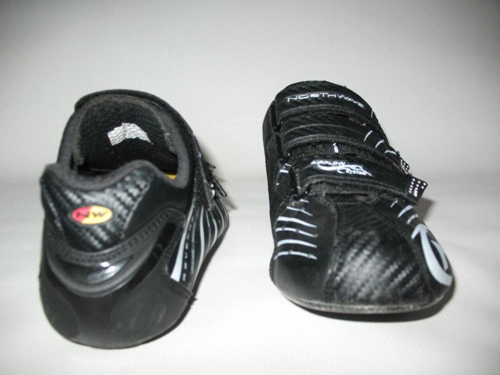 Велотуфли NORTHWAVE revenge road shoes (размер US9,5/UK8,5/EU42(на стопу до 270 mm)) - 5