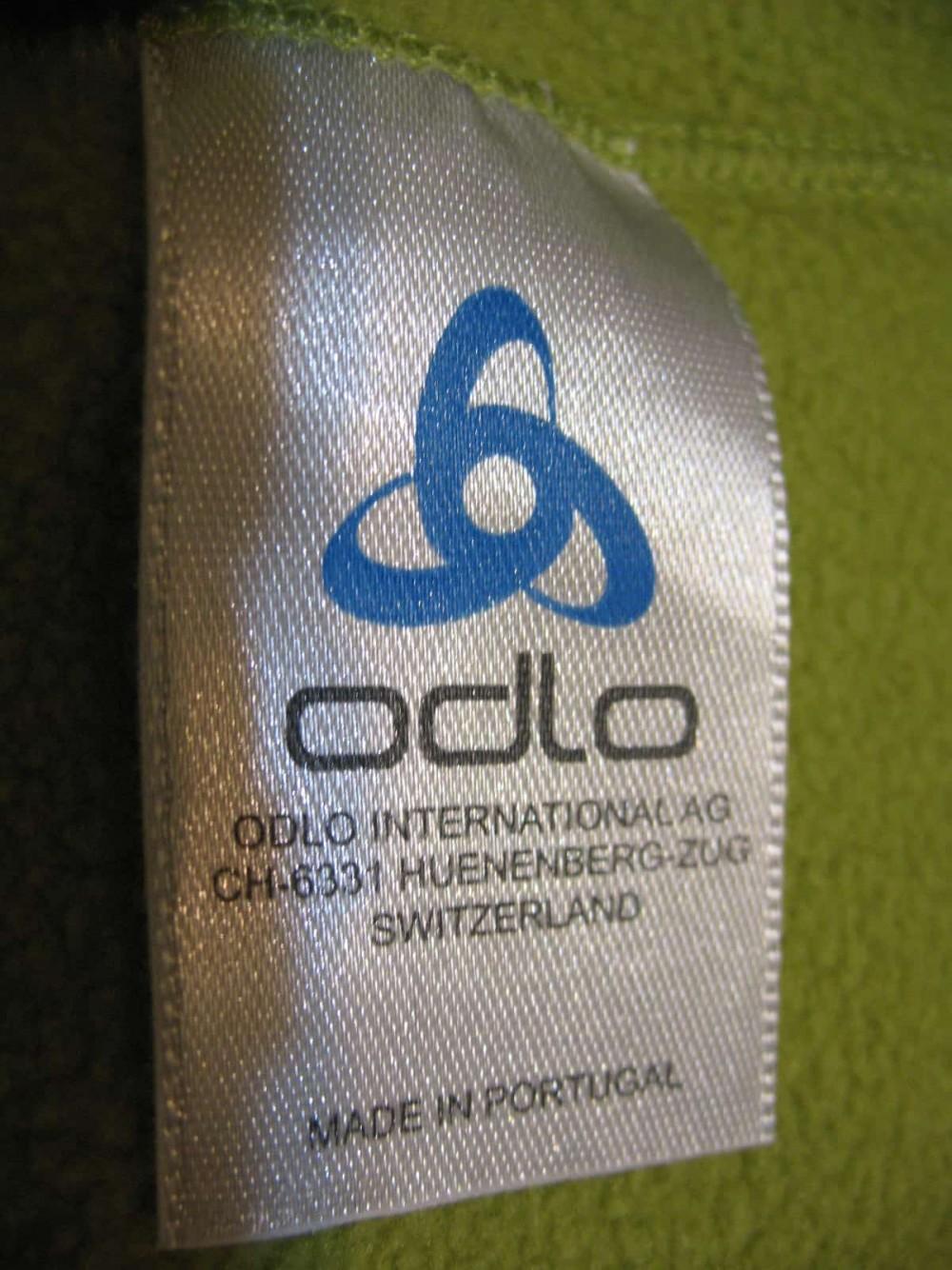 Кофта ODLO fleece hoodies jersey lady (размер S) - 6