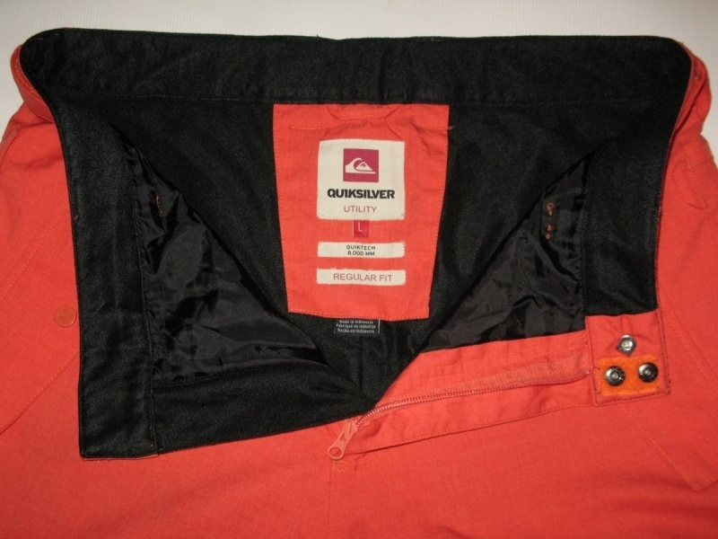 Штаны QUICKSILVER porter pants (размер L) - 7