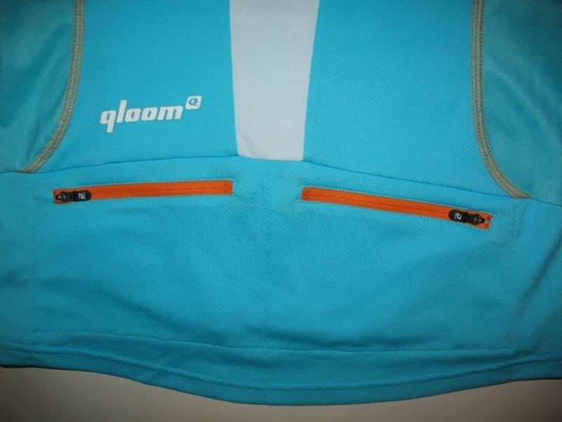 Футболка QLOOM bike jersey 1 lady  (размер S) - 4