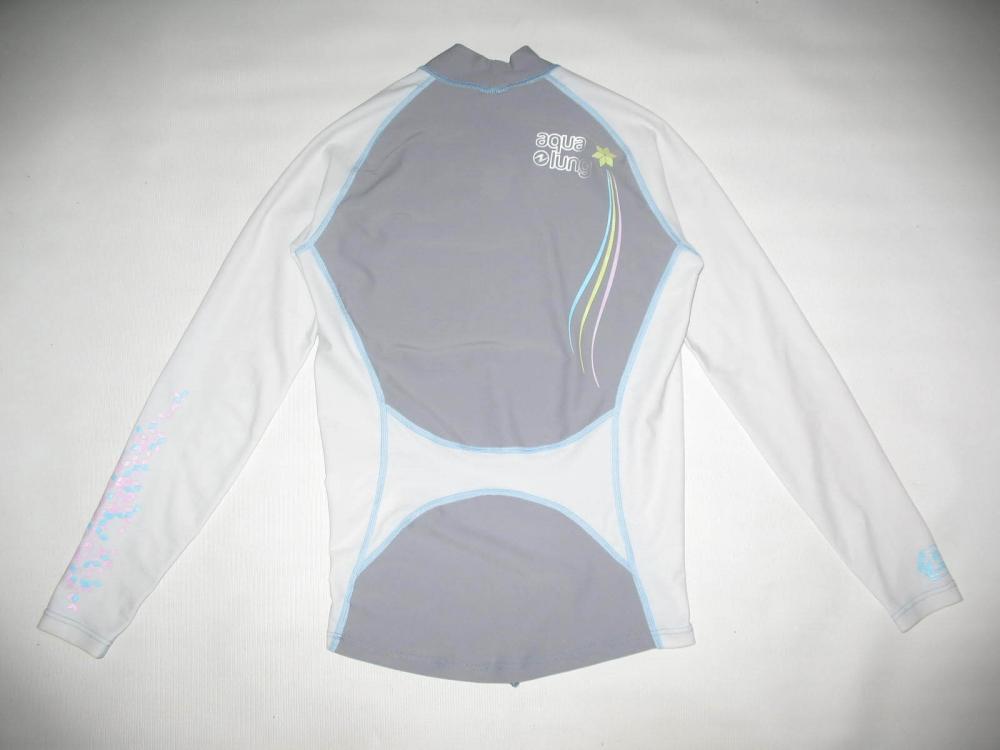 Футболка AQUA LUNG star anise long sleeve rashguard lady (размер M) - 1