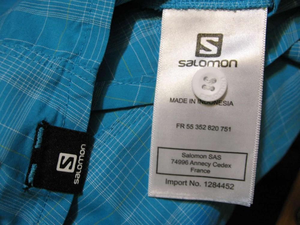 Рубашка SALOMON outdoor  ss shirt lady (размер L) - 3