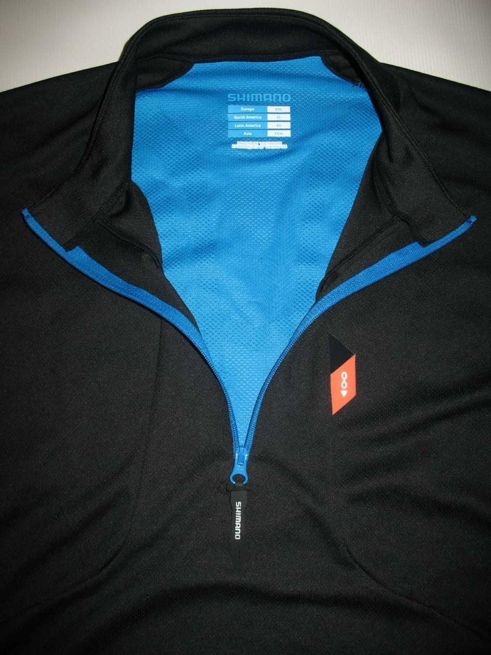 Веломайка SHIMANO trail bike jersey (размер XXL) - 2