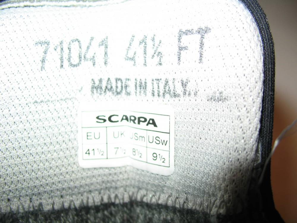 Ботинки SCARPA triolet pro GTX boots (размер UK7/US8/EU41(на стопу 255 mm)) - 12