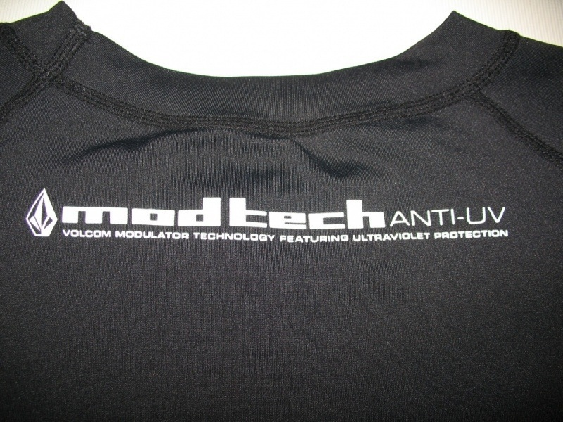 Футболка VOLCOM modtech compression jersey  (размер XL) - 3