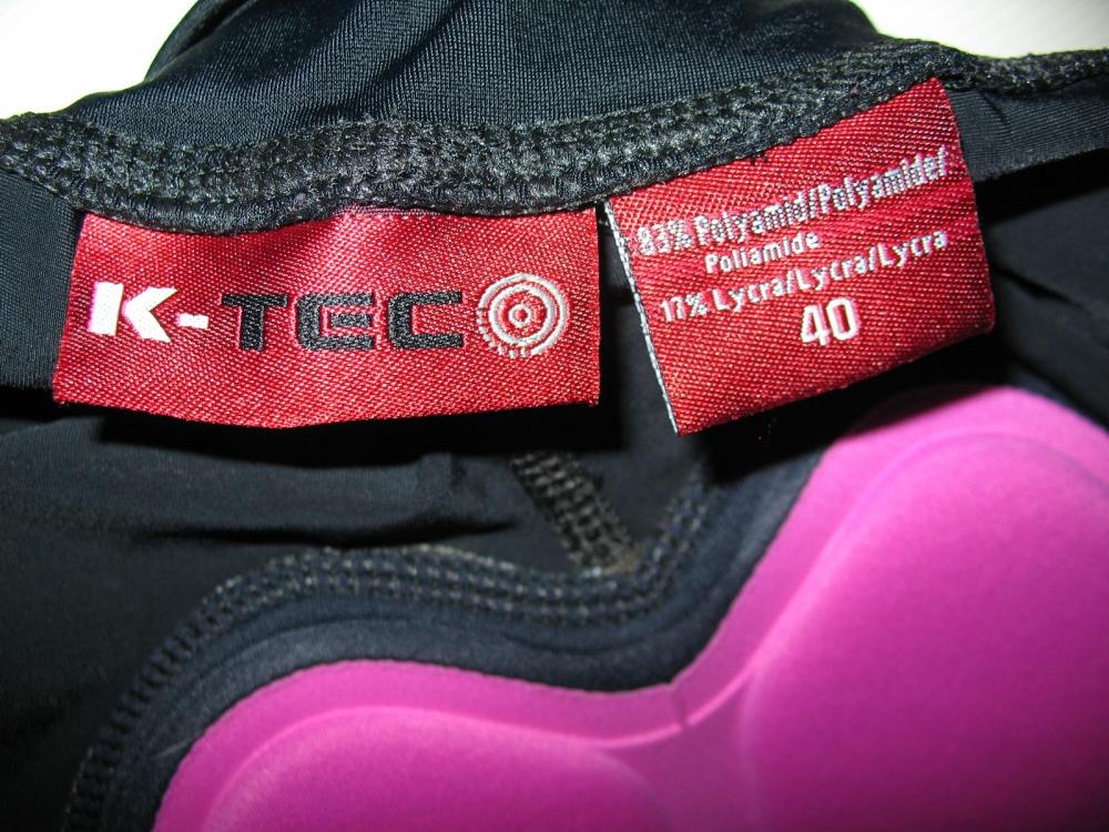 Велошорты K-TEC cycling 3/4 shorts lady (размер 40/L) - 3