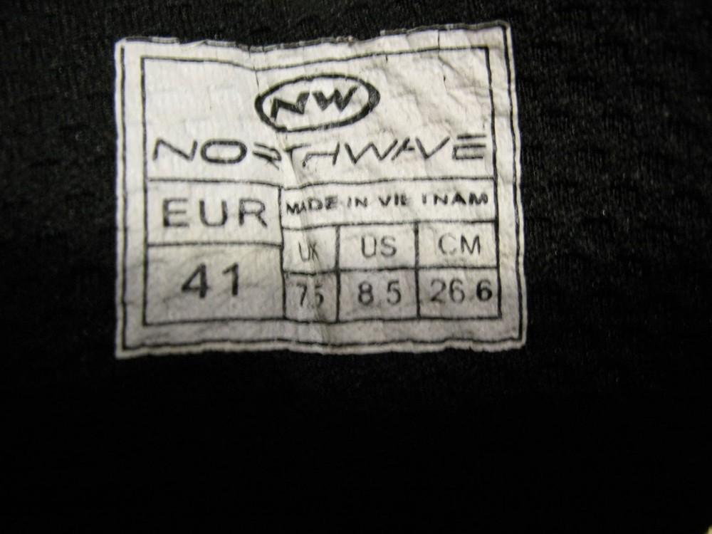Велотуфли NORTHWAVE elisir evo cyclng shoes (размер UK7.5/US8.5/EU41(на стопу до 265 mm)) - 9