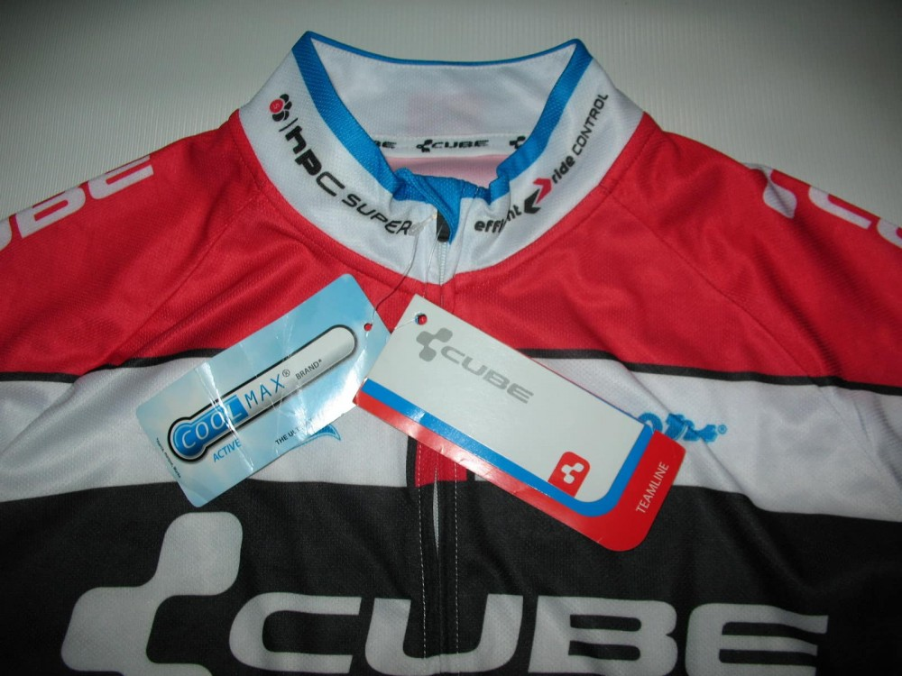 Веломайка CUBE teamline jersey (размер S) - 3