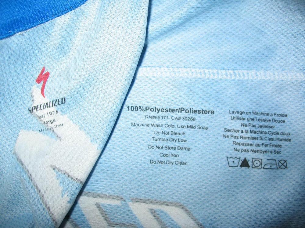 Веломайка SPECIALIZED bike jersey (размер L) - 6