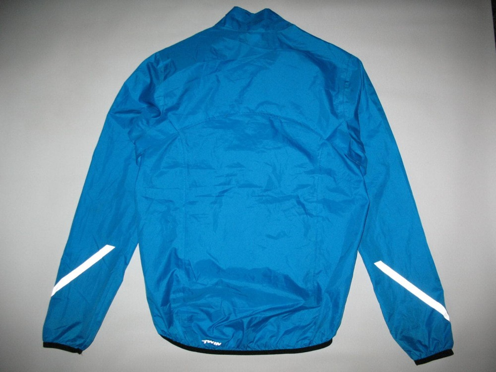 Куртка B'TWIN 300 waterproof cycling jacket (размер S/M) - 4