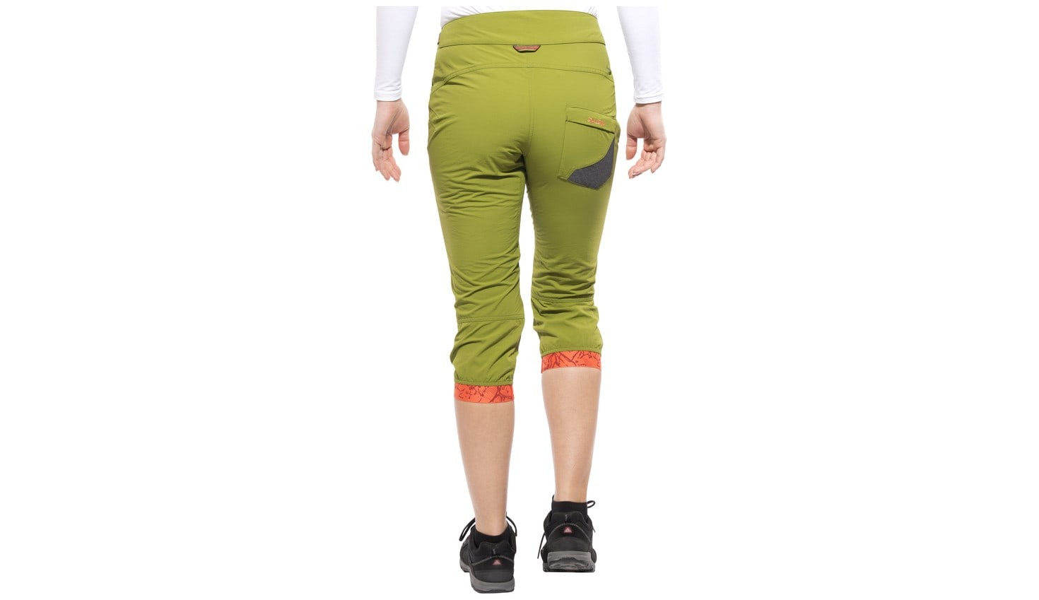Штаны SALEWA rhytmo dry 3/4 pant lady (размер М) - 8
