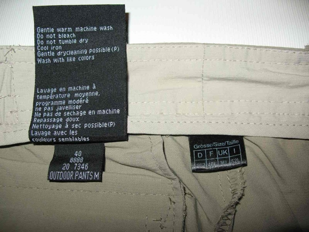 Штаны SCHOFFEL outdoor pants (размер 52-L/XL) - 11