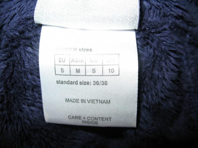Кофта JACK WOLFSKIN  nanuk fleece lady  (размер S) - 7