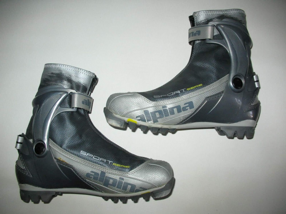 Ботинки ALPINA sr40 cross country ski boots (размер EU41(на стопу до 255 mm)) - 7