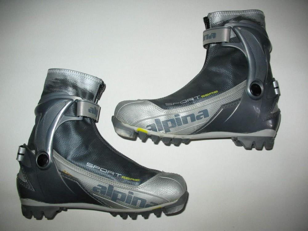 Ботинки ALPINA sr40 cross country ski boots (размер EU41(на стопу до 255 mm)) - 7