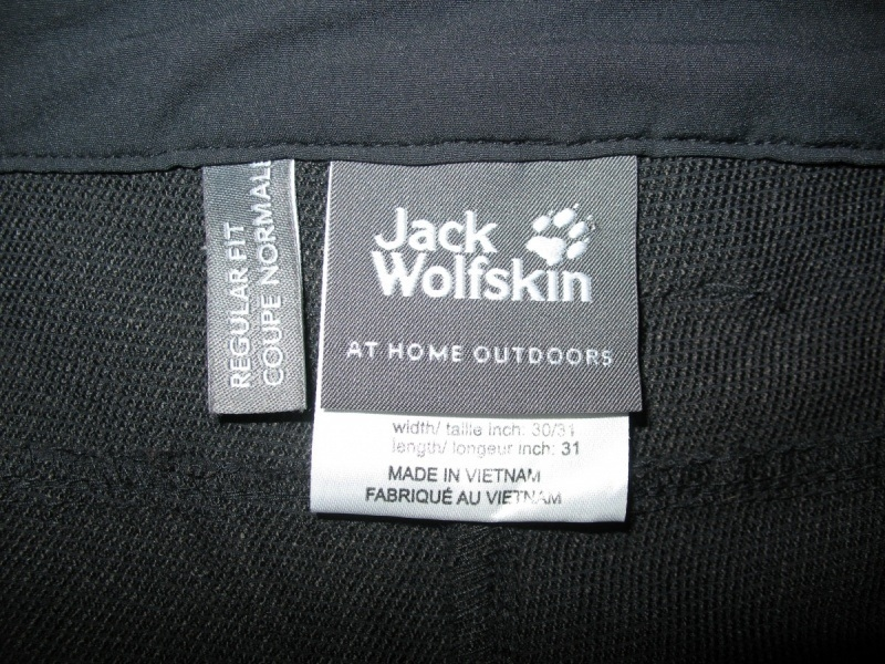 Штаны JACK WOLFSKIN Activate Fit lady  (размер 40-МL) - 11