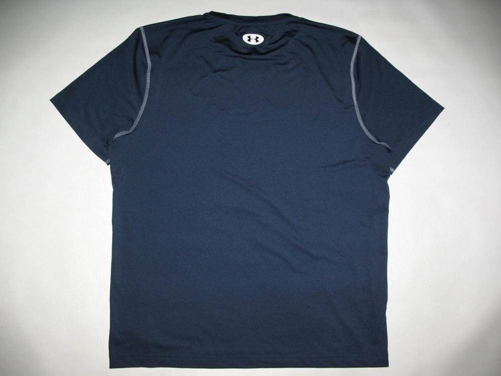Футболка UNDER ARMOUR HeatGear sonic SS shirts (размер XL) - 1