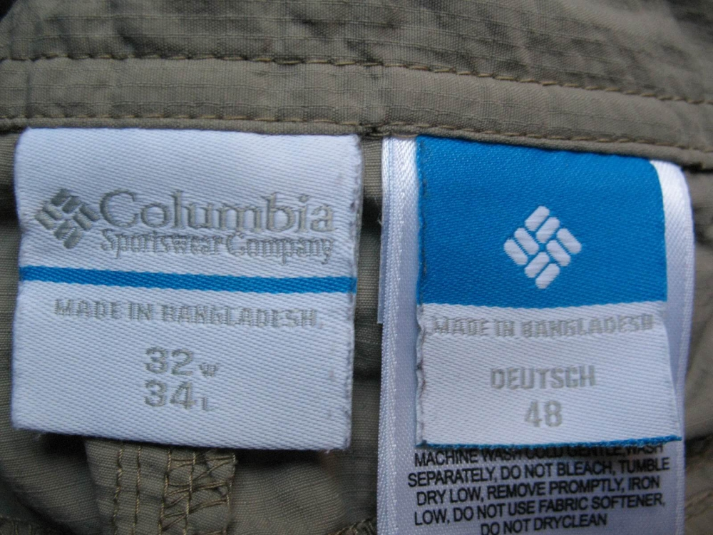 Штаны COLUMBIA Silver Ridge Cargo Pants (размер 48/M) - 10