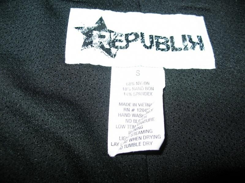 Шорты REPUBLIK  (размер S/M) - 6