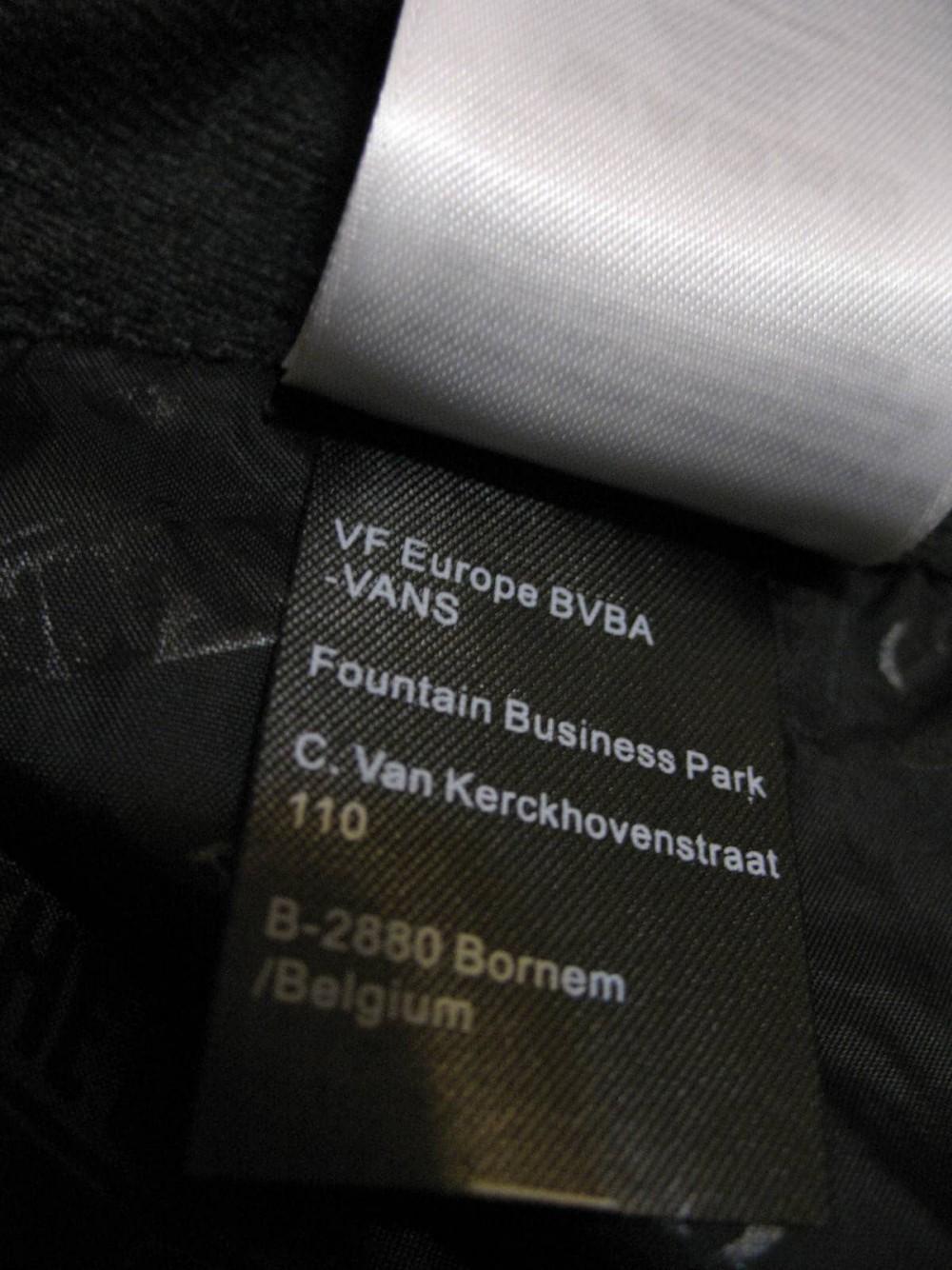 Штаны VANS 10/10 snowboard pants (размер XL) - 13